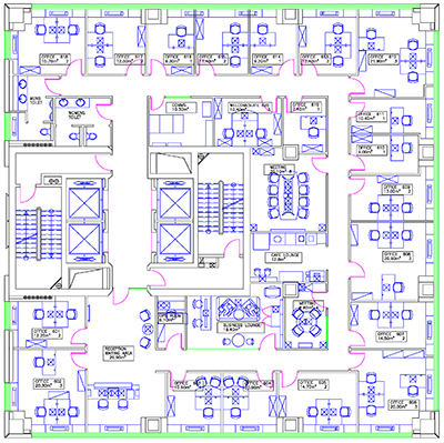 Cad services 3d visualizations web services cad for Electrical as built drawings sample